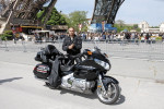 Visite de Paris à moto Goldwing GL1800 - Freedom Organisation - Paris