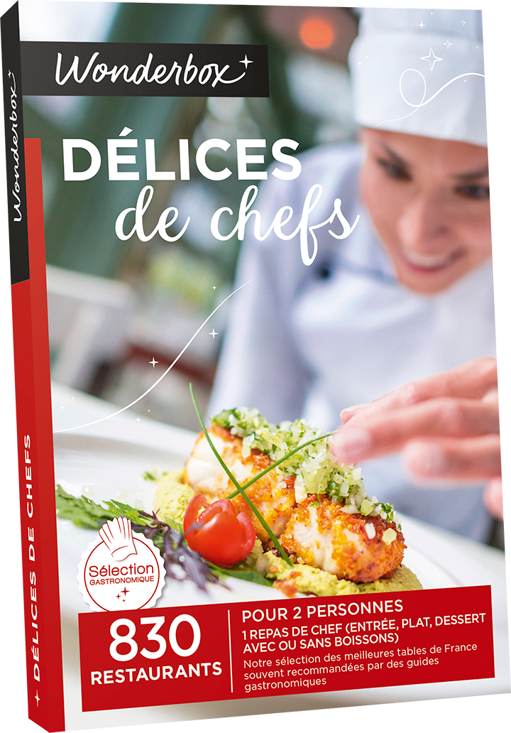 Vente coffret gastronomie wonderbox tritoo for Wonderbox cours de cuisine