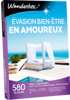 week end en amoureux coffret cadeau wonderbox. Black Bedroom Furniture Sets. Home Design Ideas