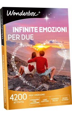 Cofanetto regalo Infinite emozioni per due - Box multitematici ...