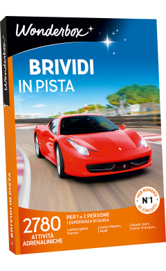 Cofanetto regalo Brividi in pista - Box sport - Wonderbox