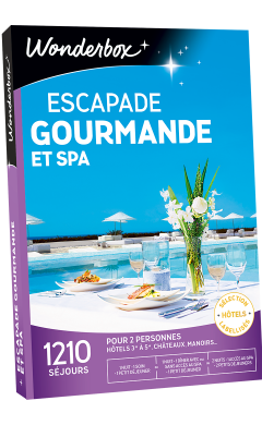 Zoom Escapade gourmande et spa