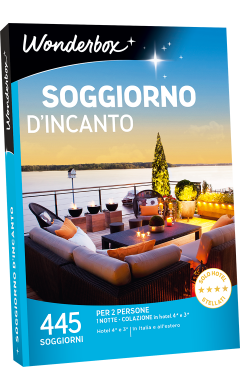 Cofanetto regalo Soggiorno d\'incanto - Box weekend - Wonderbox