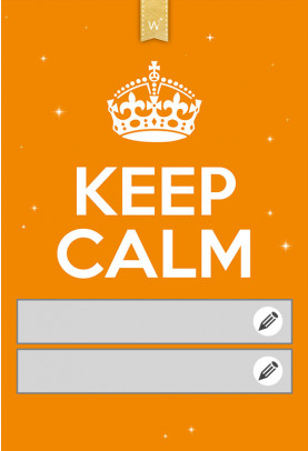 Keep calm orange