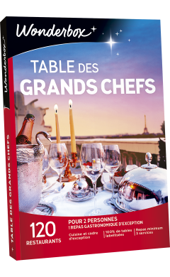 Zoom Table des Grands Chefs