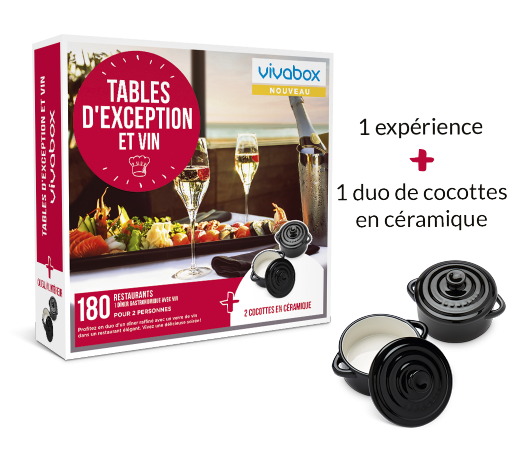 Zoom Tables d'exception et vin